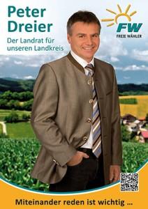 Peter Dreier - Unser Landrat für den Landkreis Landshut