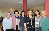 Irmi Warmuth, Bürgermeister Strauß, Margret Lackermeier, Heidi Heckner, Leiterin Frau Peres, Annelies Loibl, Gerti Stöckl
