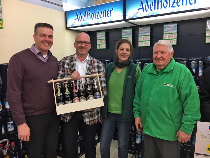 Getränke Fleischmann übergibt Spenden › Der Blog von Andreas Strauß